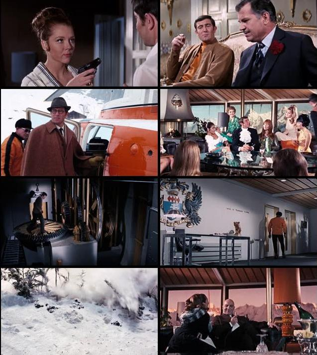 James Bond On Her Majestys Secret Service 1969 Dual Audio Hindi 480p BluRay