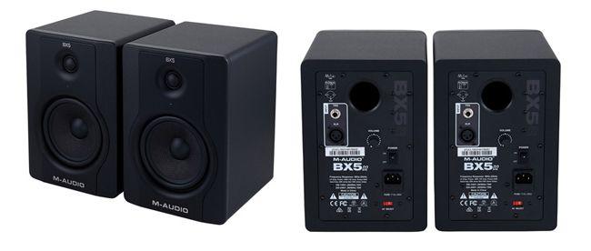 Monitores de Audio M-AUDIO BX5 D2 para Estudio de Grabación