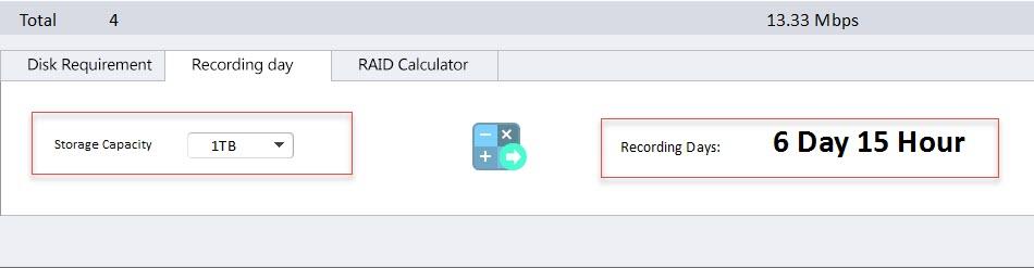 دوائر للمقاولات: تحديد حجم الهارد ديسك لكاميرات المراقبة Disk