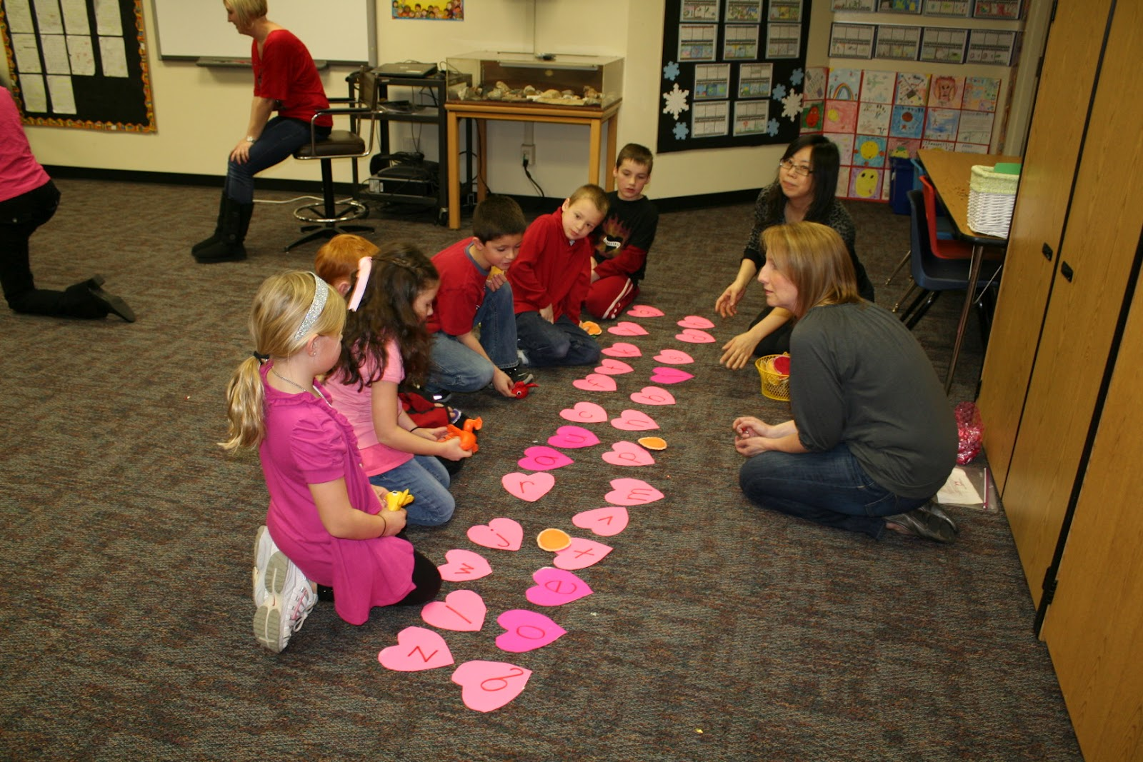 Between The Screams 2nd Grade Valentine Party