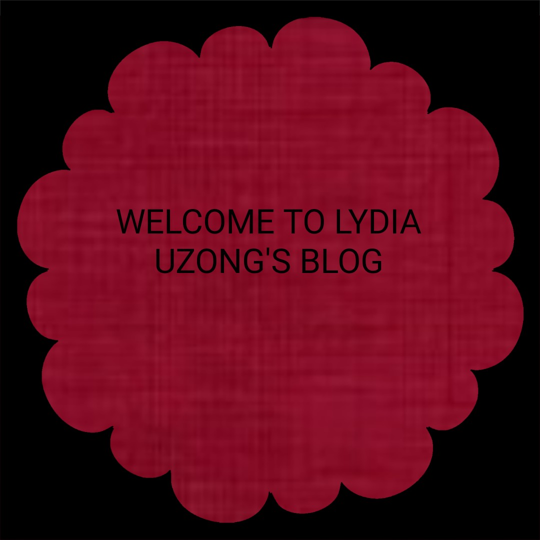 WELCOME TO LYDIAUZONG'S BLOG