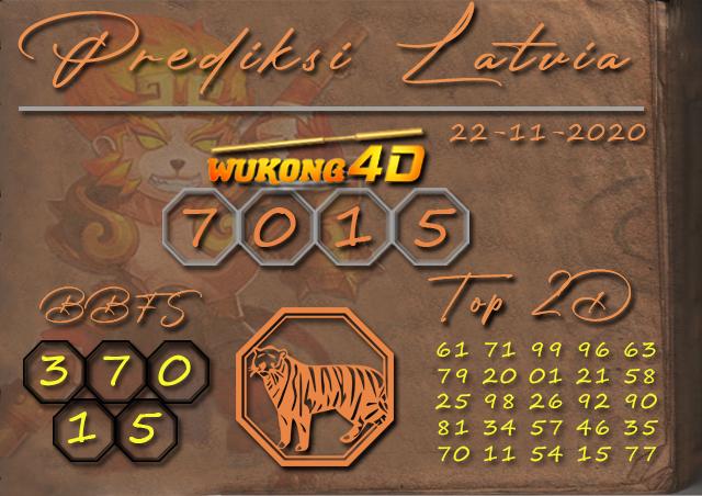 PREDIKSI TOGEL LATVIA WUKONG4D 22 NOVEMBER 2020