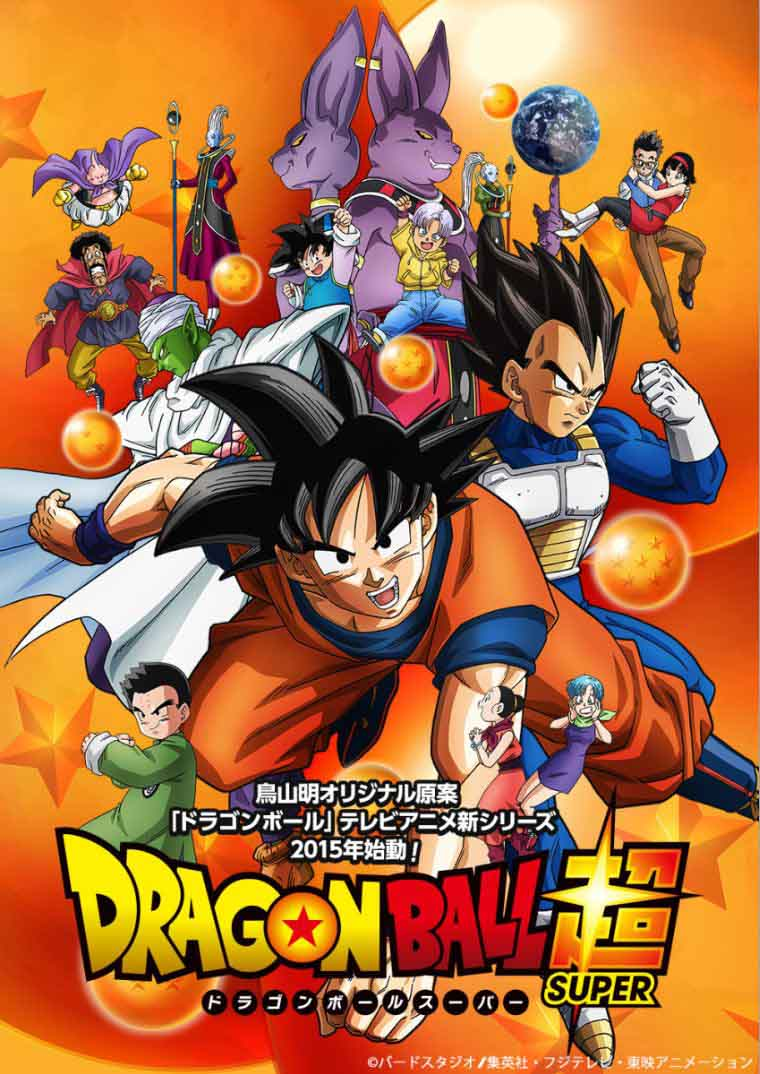 Dragon Ball Super Torrent - WEBRip 720p/1080p Dual Áudio