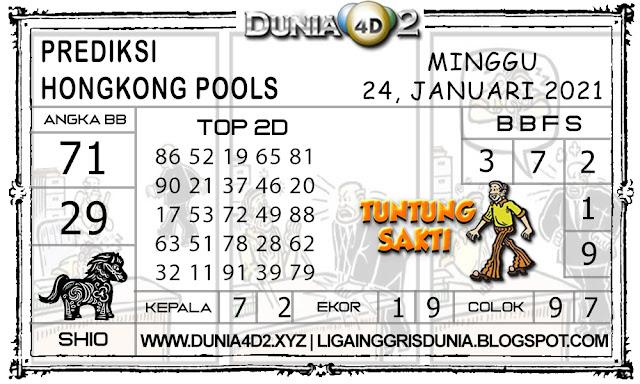 Prediksi Togel HONGKONG DUNIA4D2 24 JANUARI 2021