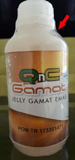 Kemasan QnC Jelly Gamat Asli