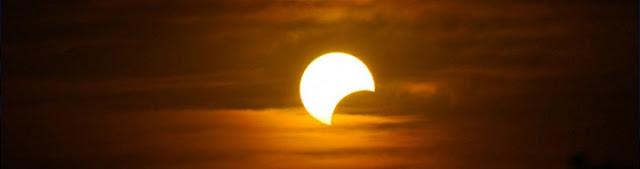 Eclipse solar parcial - 15 de fevereiro