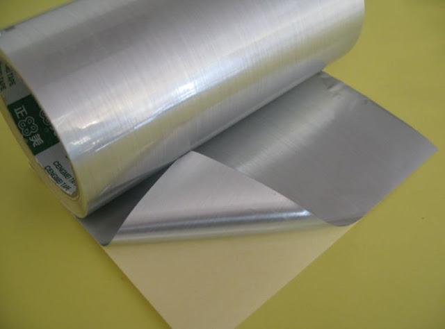Sticker Aluminium Foil