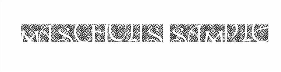 Kumpulan Font Batik Indonesia