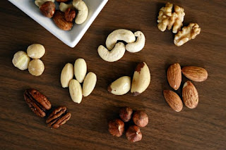 Nuts and almonds sources of Protein