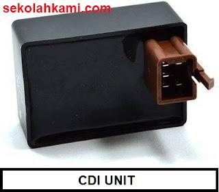 komponen pengapian cdi