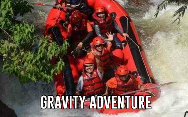 rafting gravity adventure pangalengan bandung selatan