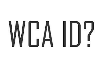 WCA ID
