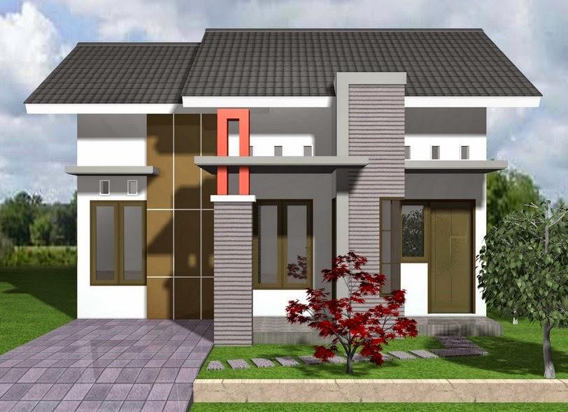 Contoh Model Rumah Modern Type 48