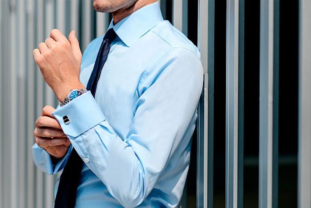 Desain Kemeja Lengan Panjang Pria