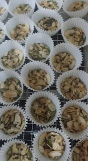 Biskut Florentine Cookies Sukatan Cawan