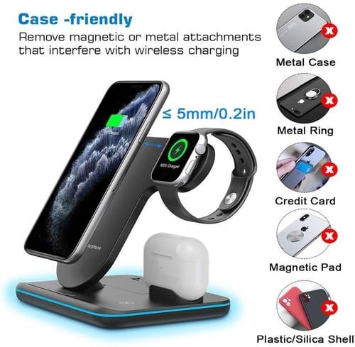 Any warphone 3 in 1 Wirless Charging Station