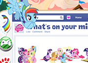My Little Pony Publicaciones de Facebook juego