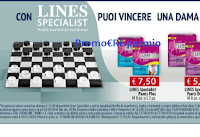 Logo Con Lines Specialist puoi ricevere 1 dama in cristallo acrilico al giorno ( valore 135€ ciascuna)
