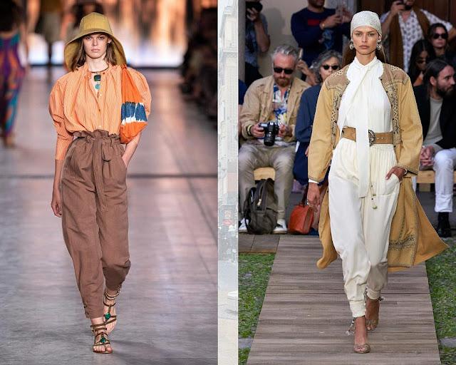 Модные брюки весна-лето 2020 4-2