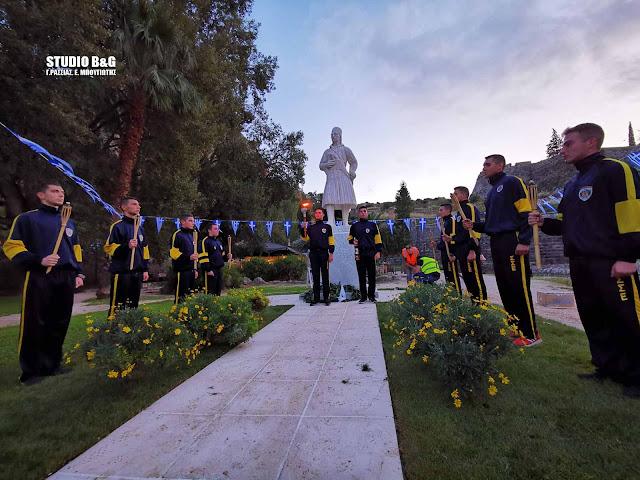 Λαμπαδηδρομία στα χνάρια των ηρώων που κατέλαβαν το Παλαμήδι και ελευθέρωσαν το Ναύπλιο (βίντεο)