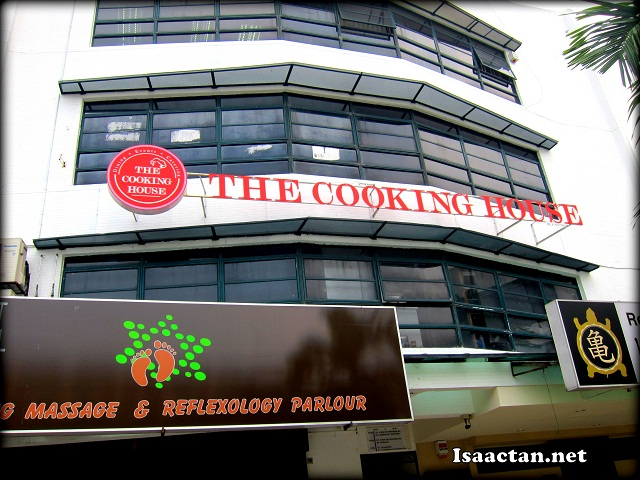 The venue, The Cooking House at Desa Sri Hartamas