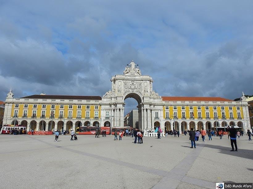 Praça do Comércio - O que fazer em Lisboa, Portugal