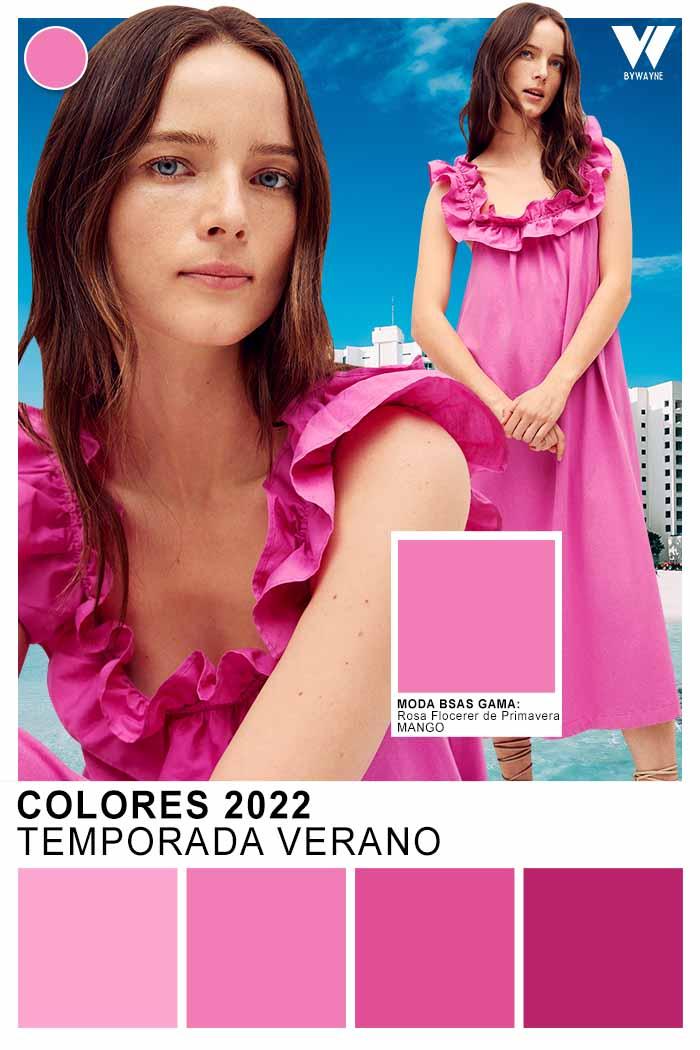 rosa orquidea color de moda primavera verano 2022