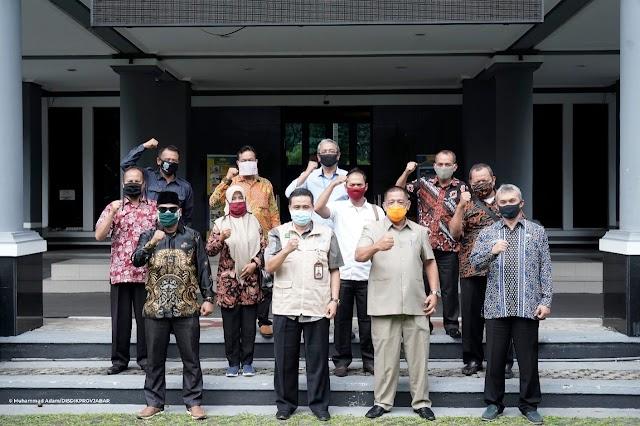 DPRD Kota Banjar Kunker ke Disdik Jabar Bahas PPDB dan Pendidikan di Era New Normal
