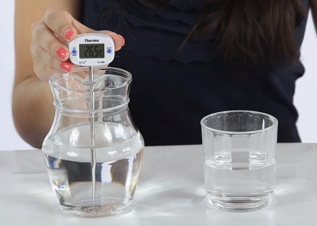 temperatura, agua, termometro