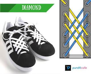 Cara Mengikat Tali Sepatu Ikatan Itensif (Diamond)