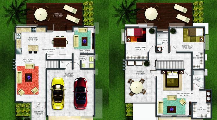 Dise o de casas interiores for Programa para decoracion de interiores