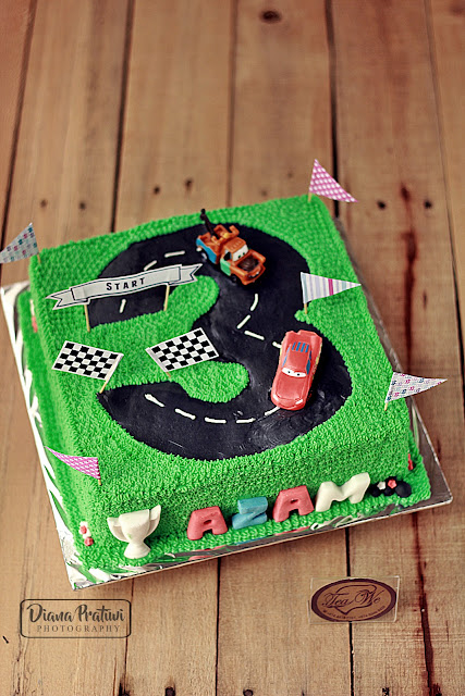 Race Car Cake Diy