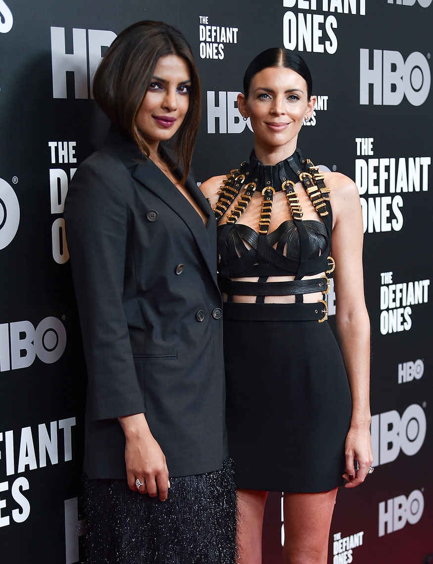 Priyanka Chopra at The Premiere of HBO's 'The Defiant Ones' at The Time Warner Center In New York