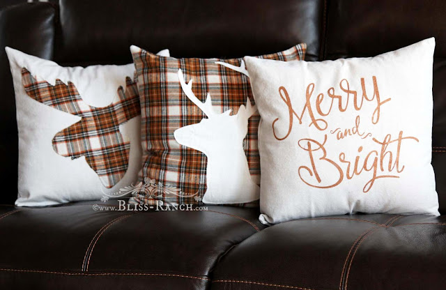 Christmas PIllows Bliss-Ranch.com