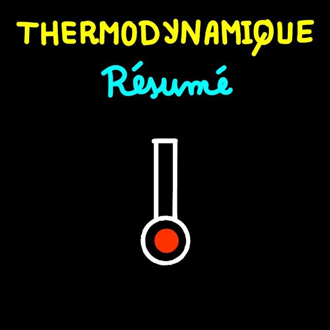 Résumé thermodynamique