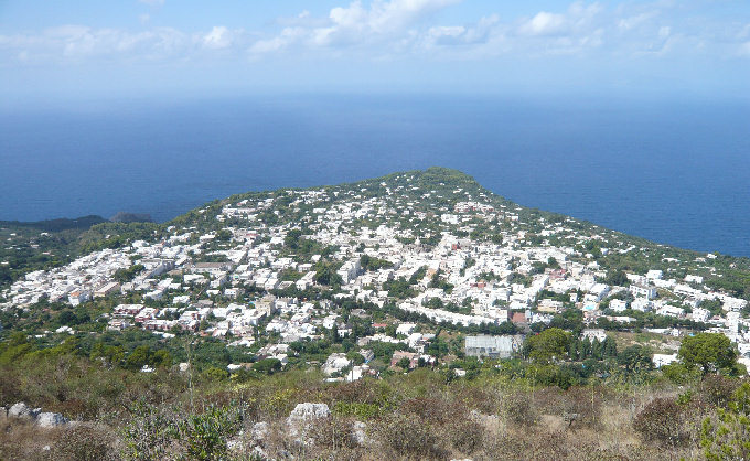 anacapri, Capri, italy, caprese, getting to capri from Sorrento, from Naples, travel, sea stacks, view,