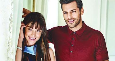 النجم التركي سيركان تشاي أوغلو يدعم حبيبته  بغداء في كواليس مسلسلها