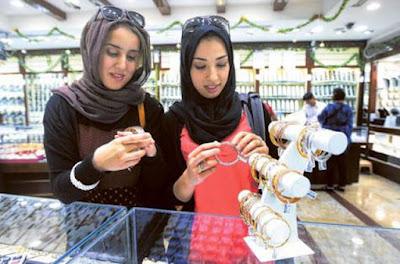صدمة جديدة وتراجع جنوني واقبال شديد على شراء الذهب بالسعودية