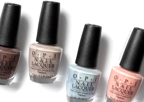 OPI Iceland Collection Fall Winter 2017