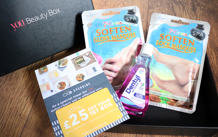 You Beauty Box - October 2016 review
