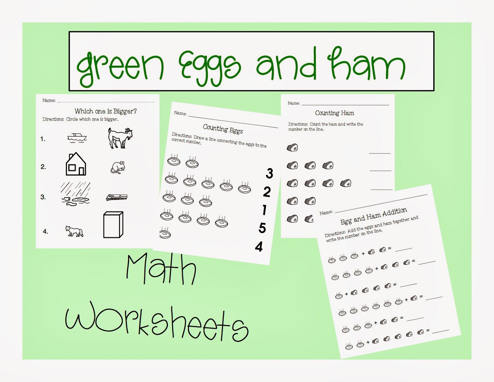Book Of The Month Green Eggs And Ham