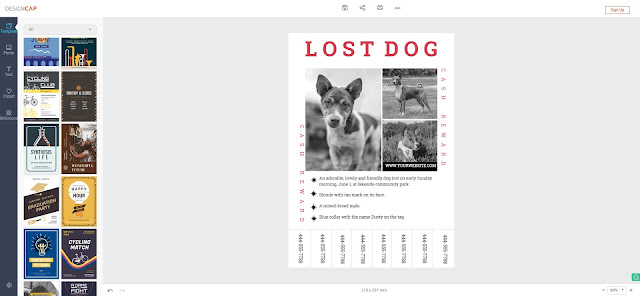 DesignCap Review: Free Online Editor to Create Poster in Minutes