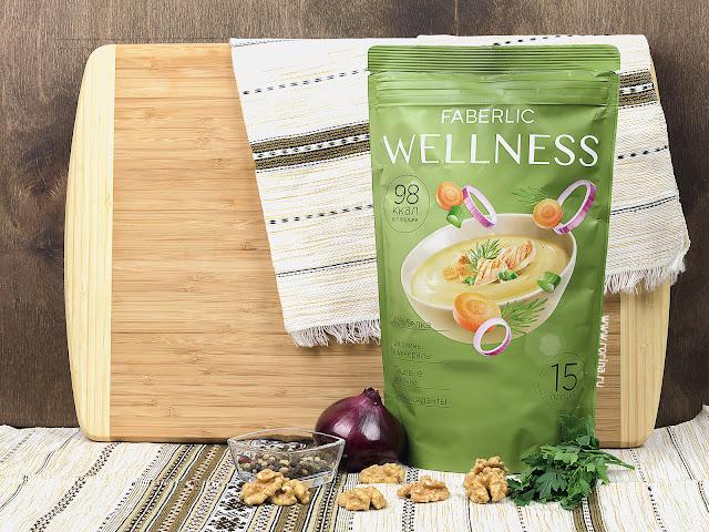 Сухой белковый суп Wellness со вкусом «Куриный с зеленью» (Артикул: 15746) отзывы с фото