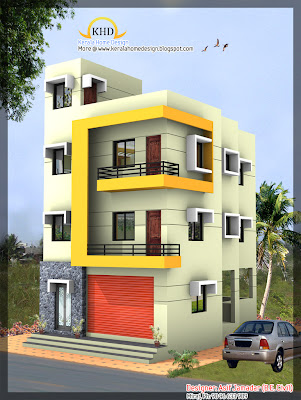 3 story house design
