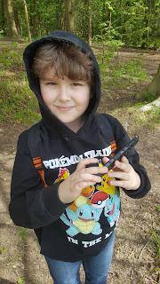 Dan Jon Jr on my Birthday Walk at Wendover Woods