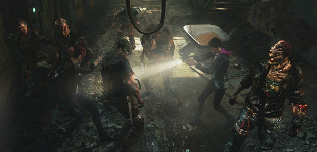 Resident Evil Revelations 2 Footage