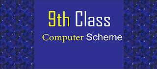 9th Class Computer Science pairing scheme