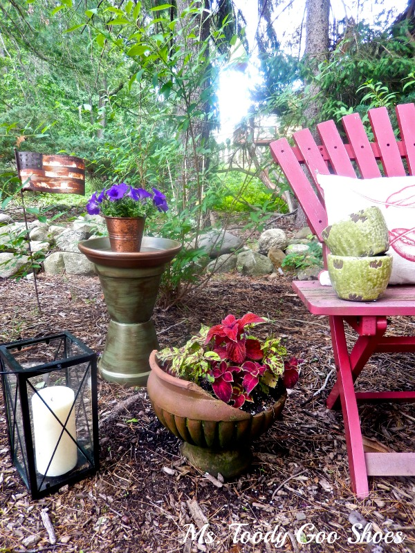 A Secret Garden Nook --- Ms. Toody Goo Shoes