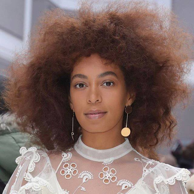Image result for solange knowles bald hair