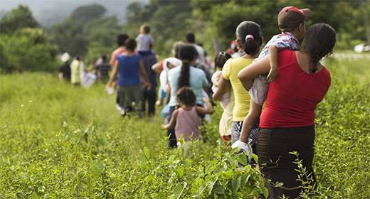 Muere por golpe de calor migrante mexicana